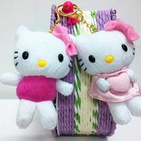 2015 New Arrival Cats Cotton Tv &amp  Movie Character Cotton Plush/nano Doll Stuffed &amp  Plush Animals Kawaii Hello Kitty