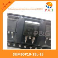 SUM90P10-19L-E3 MOSFET P-CH 100V 90A D2PAK