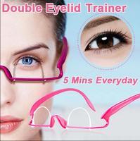 (Min. Order 10$)  Double Eyelid Trainer Double Fold Eyelid Sticker Exercise Molding Artifact Glasses Training Eyelid Lift Shaper