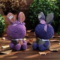 2015 New Lovely large-sized Lavender rabbit Coin Bank Money Saving Box Piggy Bank Home Decoration Gift For Chilidren I1111