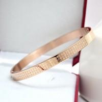 Pullo 2015 honey sutra fashion rose gold aluminum bangle titanium accessories