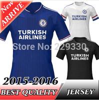 New Arrive Chelsea 2016 Home Away Soccer Jerseys DIEGO COSA Chelsea 15 16 FAGREGAS HAZARD OSCAR Football Shirts 15/16 Camiset