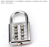 password codes padlock for luggage zipper bag handbag suitcase security travel lock   2pcs/lot  PL17