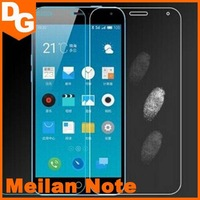 Free Shipping 0.3 mm HD Clear Tempered Glass Screen Protector For Meizu Meilan Note Android Smartphone