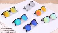 High Quality Mens Womens Designer 3016 Clubmaster Sunglasses  Gold Frame Lens Glasses