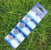 CR2025 e-electronic 3V CR2025 coin cell battery CR2025 button Freeshipping