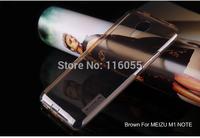 For Meizu M1 Note ultrathin 0.6mm TPU case, Original NILLKIN nature TPU transparent case For Meizu M1 Note N01