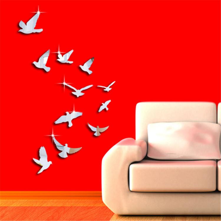 Online kopen wholesale vogel spiegel uit china vogel spiegel groothandel - Volwassen kamer decoratie model ...