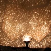 Nice DIY Celestial Projector Constellation Planetarium Star LED Night Lamp Party New Freeshipping