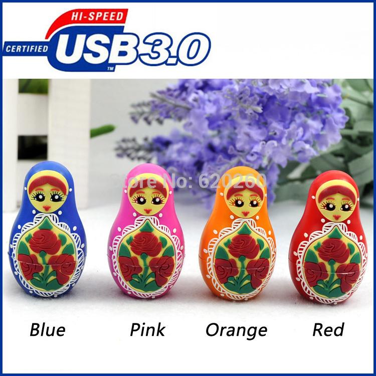 USB Flash Drive 64GB, cartoon usb3.0 8G 16G 32G usb pen drive thumb drive usb flash drive memory! Free shipping!(China (Mainland))