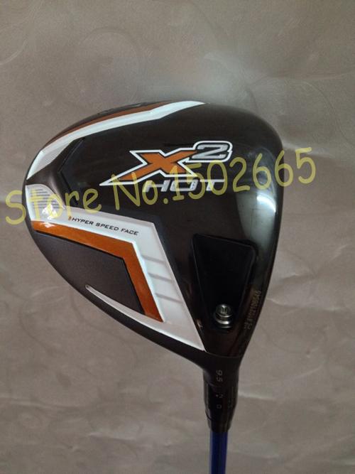 golf clubs X2 hot driver 10.5 loft regular flex golf driver 1pcs include golf headcover(China (Mainland))