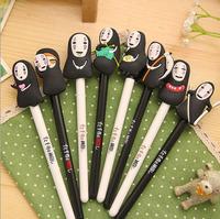 10pcs/lot Japan Hayao Miyazaki Cartoon Gel Ink Pen Promotional Gift Stationery Novelty Needle Fountain Pen