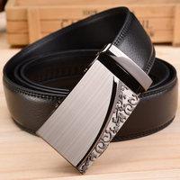 2015 Men's genuine leather belt buckle belt automatic alloy fashion casual belt 009