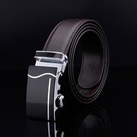 2015 Men's genuine leather belt buckle belt automatic alloy fashion casual belt 007