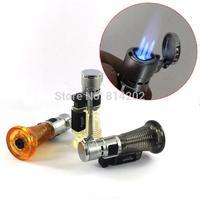 Aomai Three Nozzles Refillable Butane Gas Cigarette Torch Flame Lighter w Lock