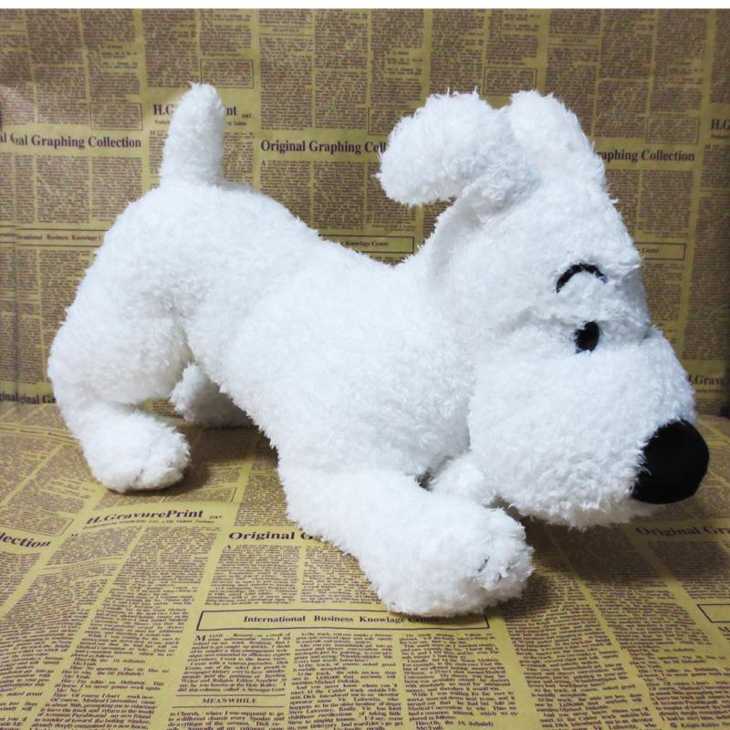 Tintin Milou Plush Tintin et Milou Snowy Dog