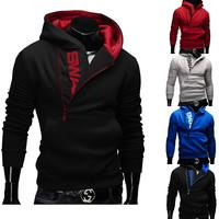 2015 Spring Fleece Cardigan Hoodie Jacket,Fashion Brand Hoodies Men,Casual Slim Sweatshirt Men,Sportswear Zipper Hoodie