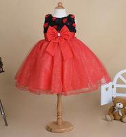 free shipping new summer dress flower girls princess dress gauze bow kids dress Children clothes