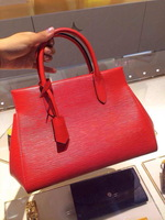 2015   New arrival fashion EPI LEATHER MARLY BB BAG M94619 RED BAG