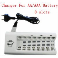 BTY 808A Smart 8 Slots Charger For AA AAA Rechargeable Battery Batteries 100-240VAC (not include the battery)