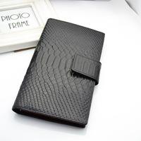 100% Genuine Leather Wallet Alligator Women Leather Long Purse Designer Wallets Famous Brand Wallet For Women pj0009