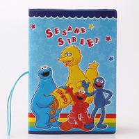 Sesame Street Sesame Street cartoon passport passport passport package set of PVC voltage clamp