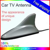Silvery color car shark fin antenna signal shark fin car radio antenna for any cars with waterproof