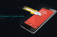 free shipping ultra thin Premium 2.5D Tempered Glass For xiaomi red rice note hongmi note 5.5 inch Screen Protector