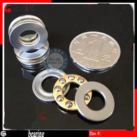 free shipping wholesale 2014 HOT ! miniature plane thrust ball bearing, F8-19M  8*19*7MM bearing steel.