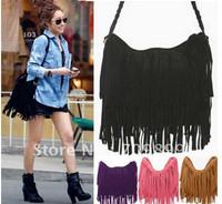 Hot Sale European&American Style Star Fashion Tassels Bags Hobo Clutch Purses Handbags women Shoulder Bags
