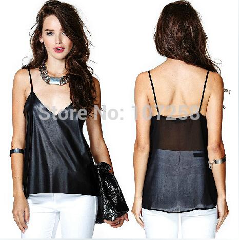Топ Manu 2015 Sexy Canisole XXS XS S M L XL XXL XXXL 4XL 5XL 6XL женские блузки и рубашки xs s m l xl xxl v ms04