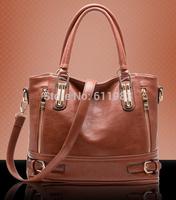 New Design Women Fashion cowhide women's leather fashion handbag messenger bag vintage women's motorcycle BAGS bolsa de franja