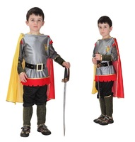 2015 Roman Prince Masquerade Disfraces Halloween Costumes for Kids Children Cosplay Costumes King of Roman Carnival Costume