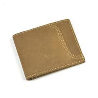 Men's retro brown leather wallet 2015 designer men wallets famous brand style large zip around purse