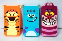 Cute 3D Cartoon Monster Tigger Sulley Cheshire Cat Silicone Case Back Cover For Samsung Galaxy A3 A3000 A300F A300H