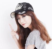 Ctrlstyle1 Pcs 2015 fashion crown baseball cap100% cotton spring sports snapback cap women's hat 7 colors,Free Shipping