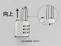password codes padlock for luggage zipper bag handbag suitcase security travel lock   2pcs/lot  PL20