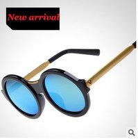 Sunglasses Women Round Vintage Oculos 2015 High Fashion Glasses Brand Designer Evoke Outdoor Beachwear Unisex 5 clor sg260