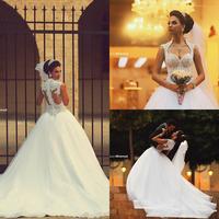Vestido De Novias De Casamento Sweetheart Lace Bride Wedding Dresses 2015 Customized Celebrity White Backless Bridal Gowns Hot