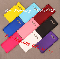 50pcs/lot phone case For samsung galaxy A3 colorful  Mobile phone case Free shipping
