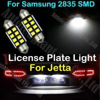 2x White Canbus C5W 36mm Light For VW Jetta 2.0T 2.5 Base Carat CE City GL GLI GLX GT Jazz K2 LE SEL TDI License Plate Light