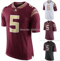 2014 Playoff #5 Jameis Winston Jersey,Florida State Seminoles (FSU) NCAA College Football Jerseys, Embroidery logos