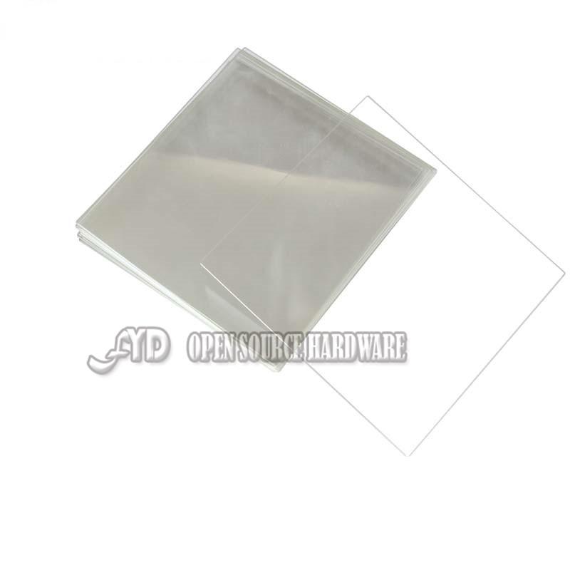 Запчасти для принтера Yx 3D 213 * 200 * 3 ReprapMK2 Borosilicate Glass Plate 213*200*3mm dia 400mm 900w 120v 3m ntc 100k round tank silicone heater huge 3d printer build plate heated bed electric heating plate element