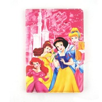 For Apple iPad Mini New Arrival Cartoon Snow White Picture Girls PU Leather Tablet Case With Stand Covers Free Shipping 1PCS