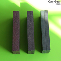 6PCS/lot,Knife Making Blade Blank Scales - MULTI COLOR Canvas MICARTA KNIFE HANDLE MATERIAL,Free Shipping