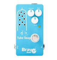 Original Bravo Audio Soap Tube Bypass Warm Tube Guitar Booster Amplifier