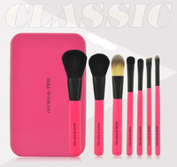 2015 Real Techniques Tin Boxes 7 Pc Professional Makeup Brushes Beauty Tools free Ship Make Up Brush with Box Package Tool Set