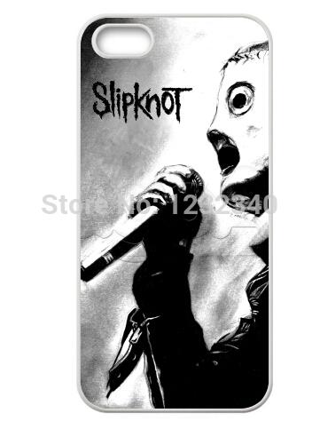 Slipknot caso tema para Iphone 5 5S personalizada de boas vindas elegante Phonecase(China (Mainland))