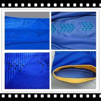 2015 JutusFC Player Version LLORENTE Away Shirt ,Men Outdoor Breathable MORATA 14/15 Blue Shirt,Size S-XL,Free Ship