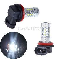 2 x H8 Car Driving Fog light Super Bright CREE XBD 16LED Lamp Bulbs 80W White DC12V - DC 30V